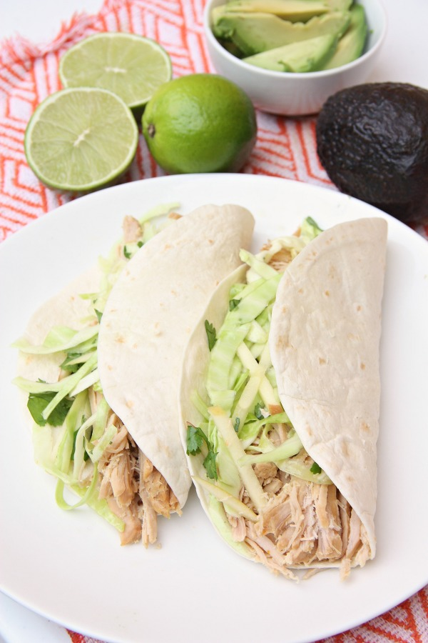 Citrus Pork Tacos with Apple Cabbage slaw - My Mommy Style