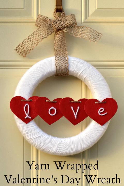 Yarn-Wrapped-Wreath