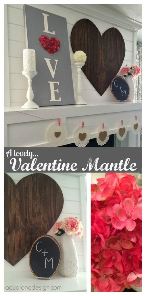 15 Beautiful Valentine 39 S Day Mantel Ideas My Mommy Style