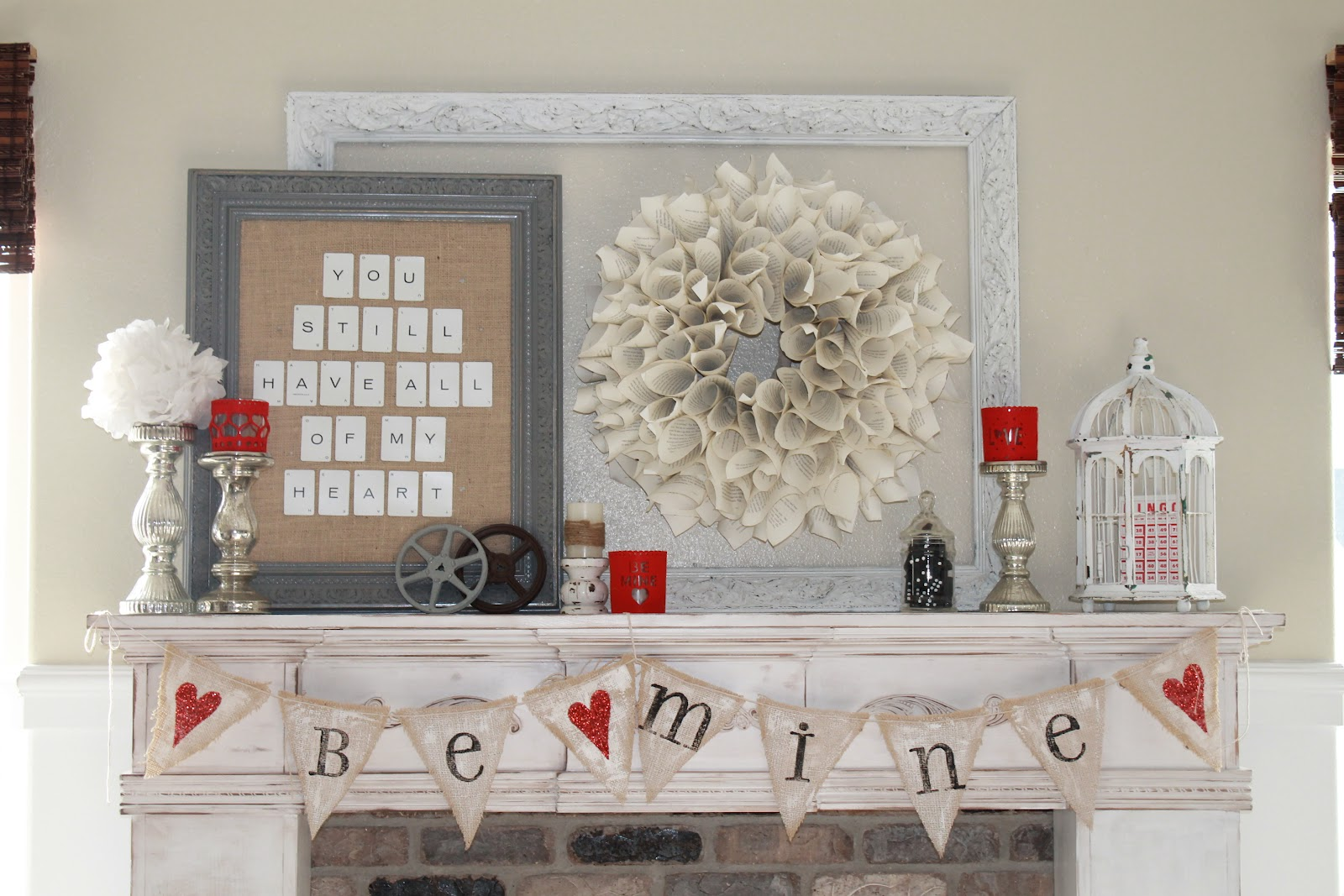 Farmhouse Valentines Day Decorations