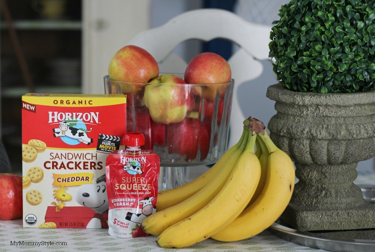 Horizon organic snacks, healthy snacks for kids, mymommystyle.com
