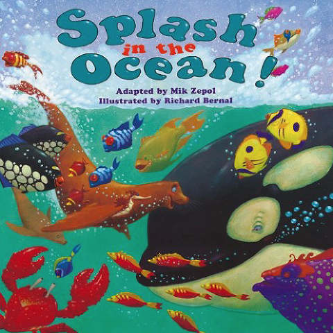 books about the ocean, splash in the ocean