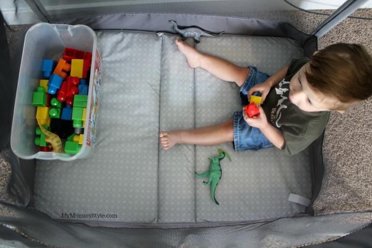 baby play yard, play, baby, sleepover