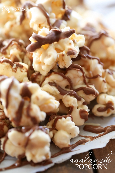 Bowl of Avalanche Sweet and Salty Popcorn