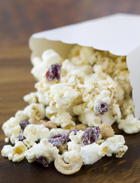 White Chocolate Cranberry Cashew sweet Popcorn