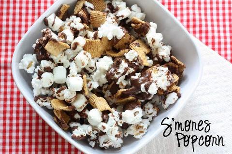 bowl of smores sweet popcorn