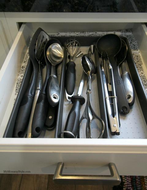 kitchen organization, utensil holder,