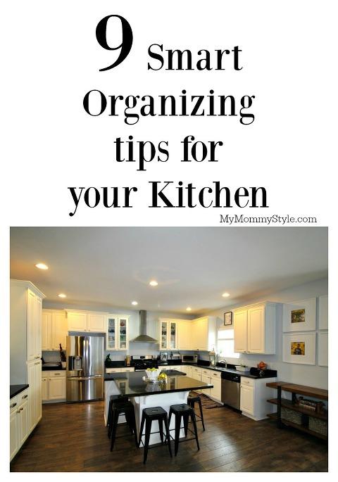 organizing tips for your kitchen, smart ideas, organize your kitchen, organize, mymommystyle