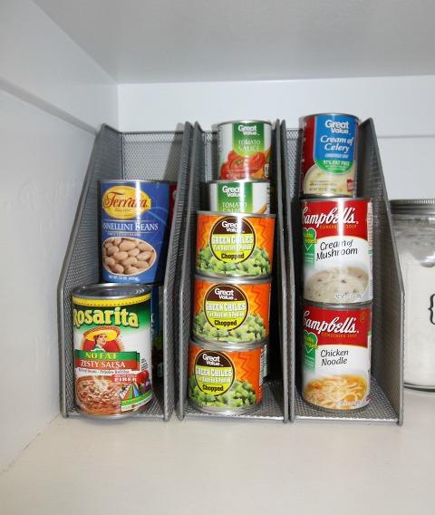 pantry organization, cans, pantry food storage