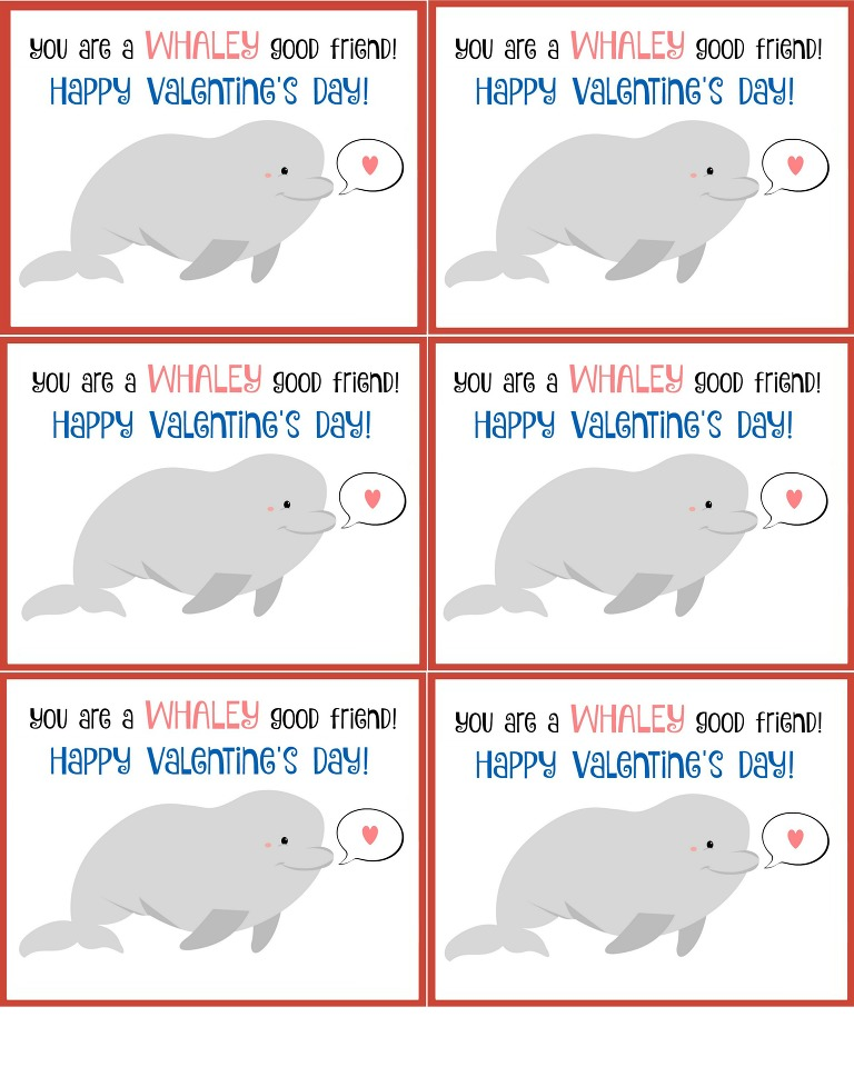 You are a Whaley good friend Beluga whale