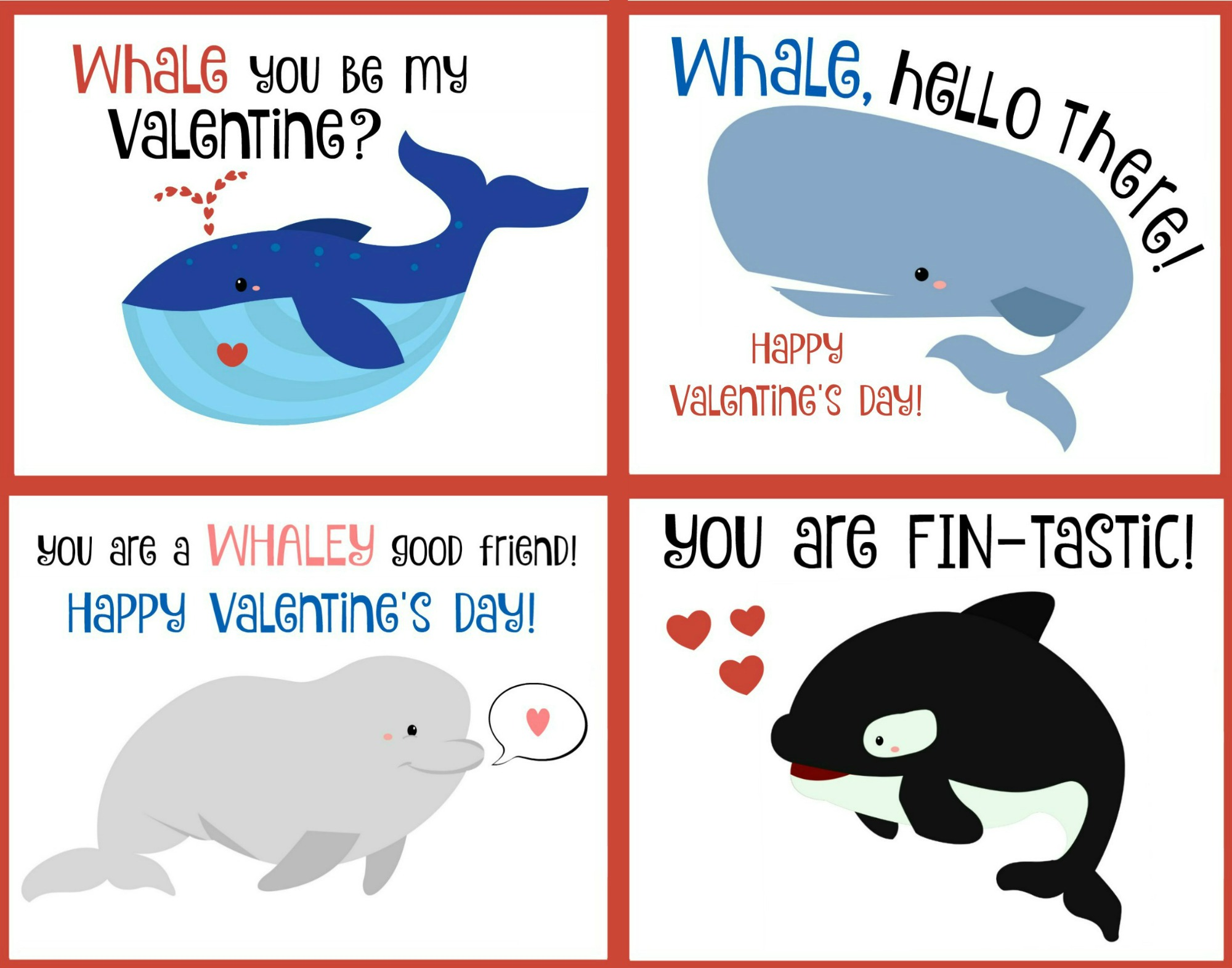 Image result for whale valentines