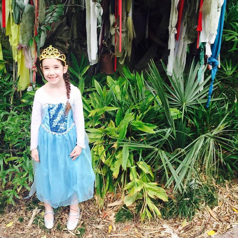 Princess dress at Disney World
