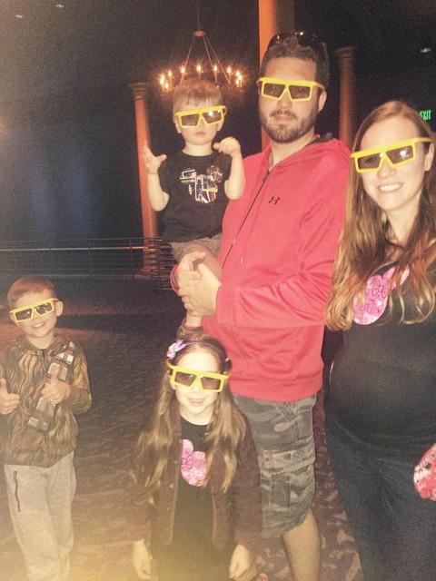 Walker family at Disney World