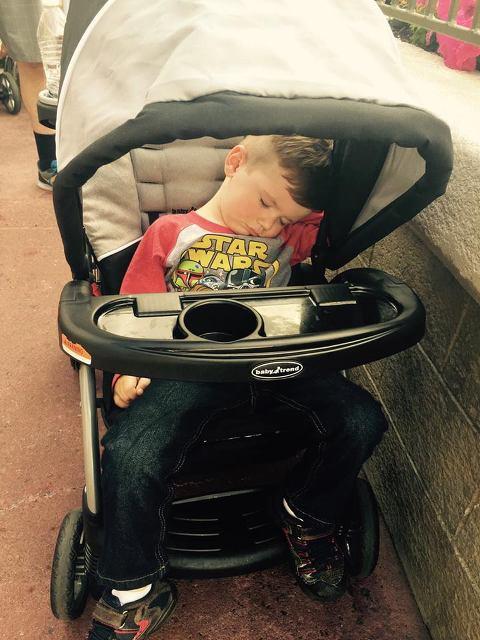 napping at Disney World
