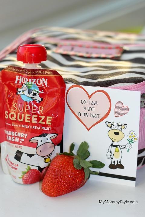 healthy snacks for kids, milk, horizon, cow jokes, free cow valentines, printables