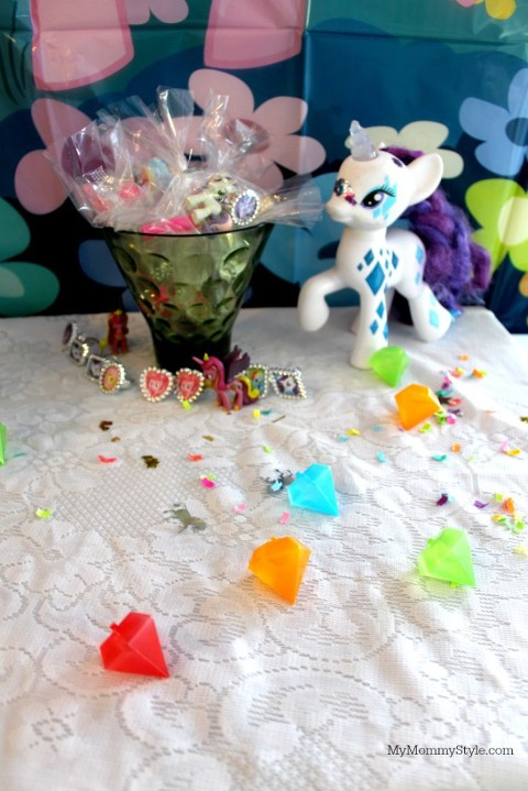 My Little pony party, ponies, gift favors