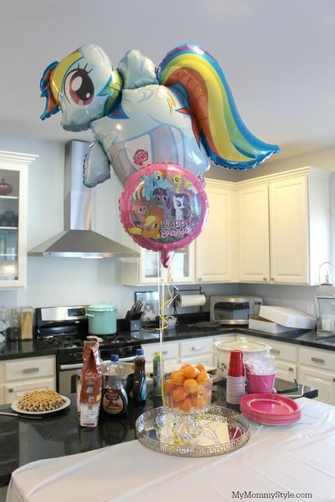 pony party, my little pony, easy my little pony party