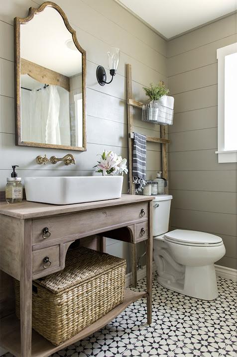 Country Living bathroom
