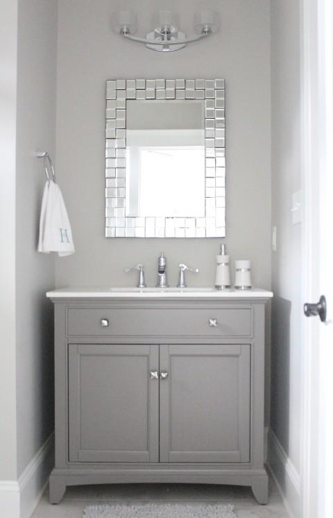 simple stylings bathroom