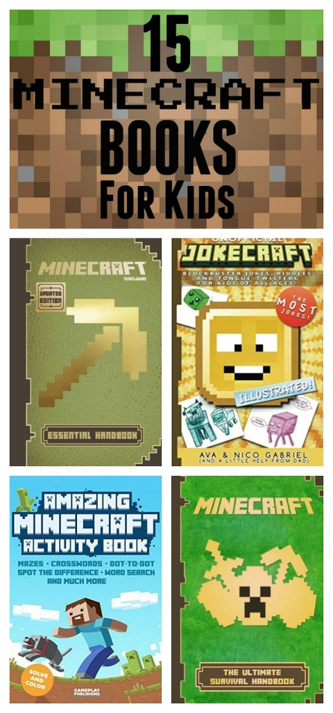 Minecraft Books For Kids Long