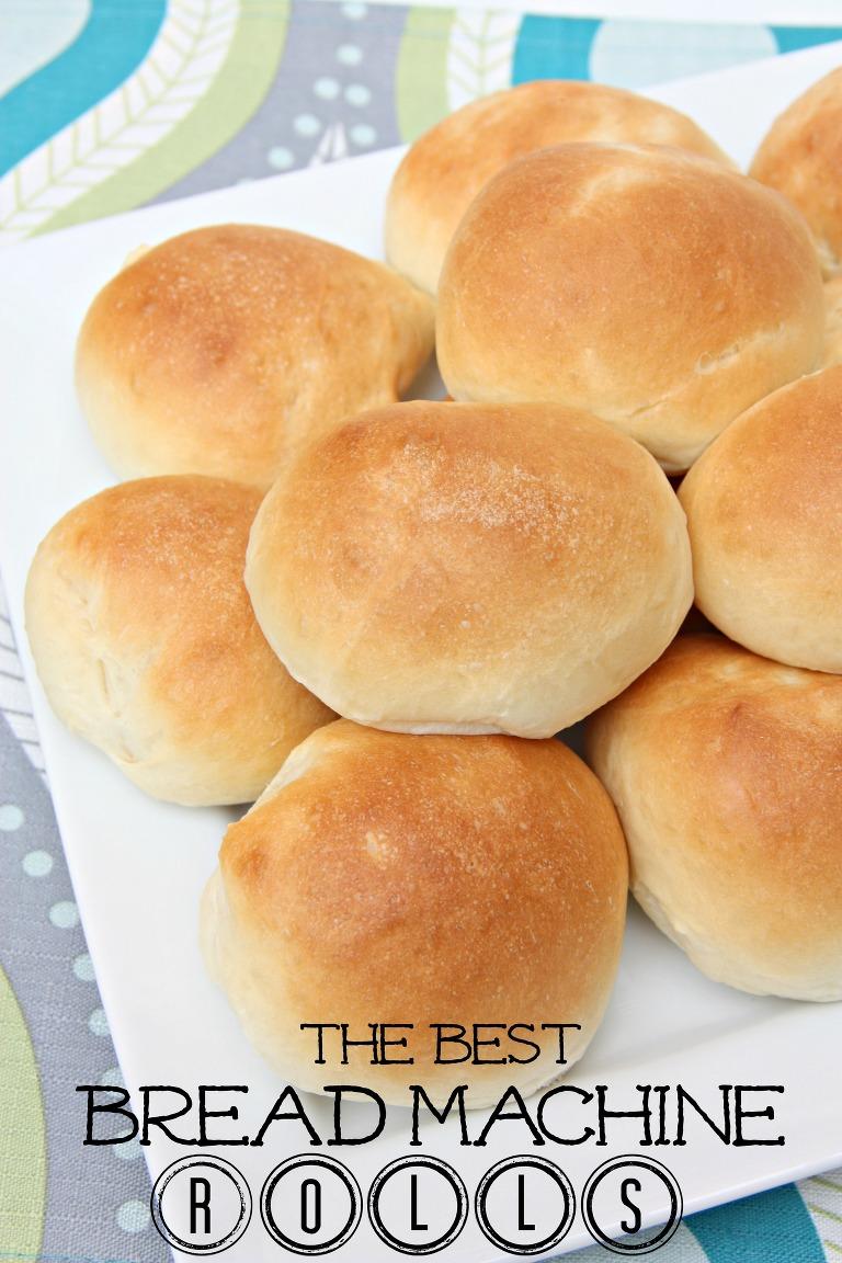 The best bread machine rolls
