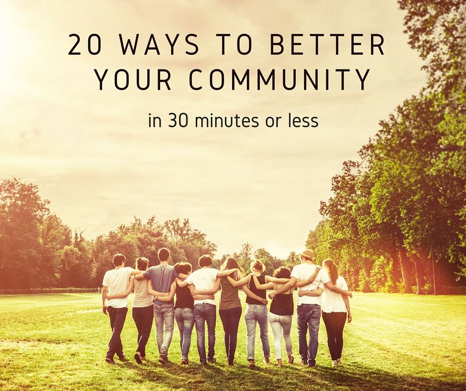 better my community Top 10 reasons to support locally owned businesses local ownership ensures that important decisions are made locally by people who live in the community and who will feel the impacts of those decisions 4 in some sectors, provide better wages and benefits than chains do 6.