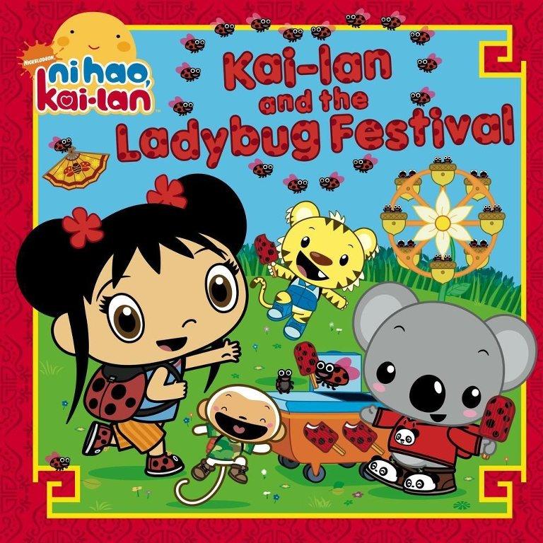 Kai-Lan ladybug festival book