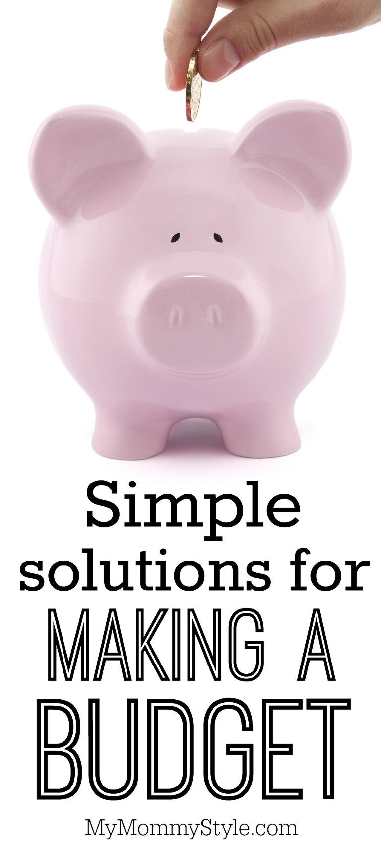 Simple solutions for making a budget