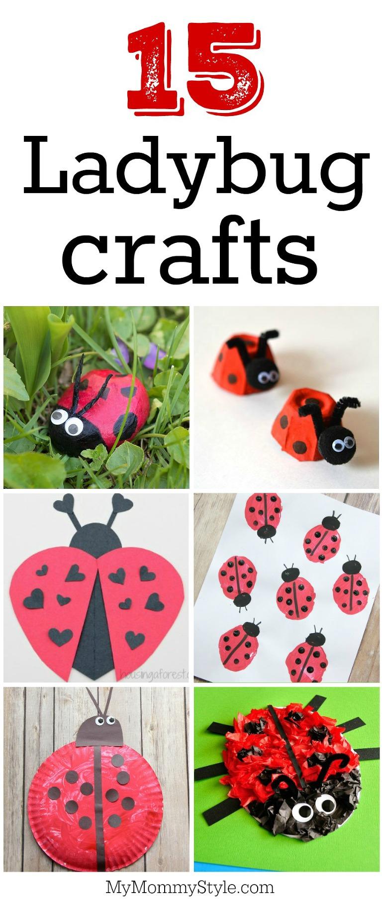 15 ladybug crafts