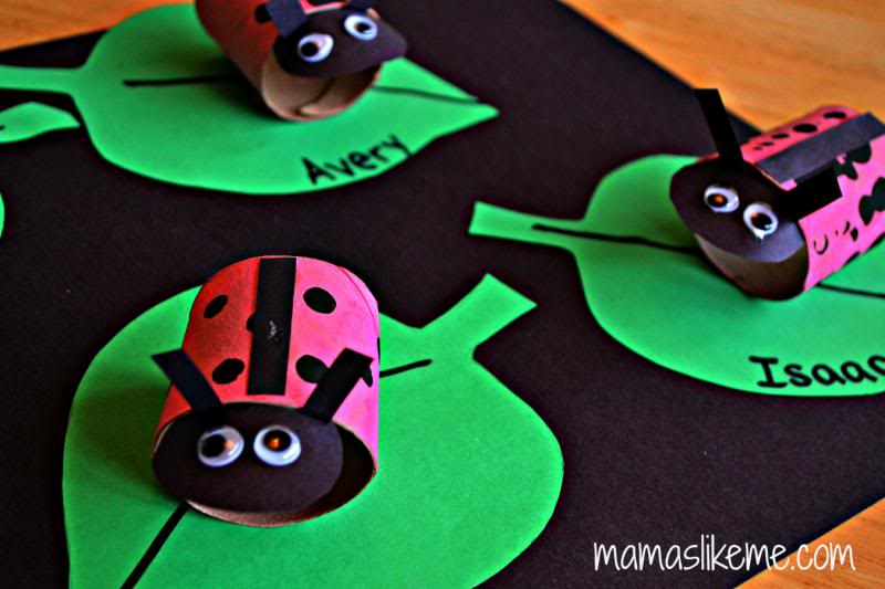 15 ladybug crafts for preschoolers my mommy style for Ladybug arts and crafts