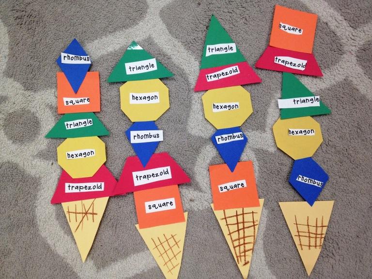 shape ice cream cones