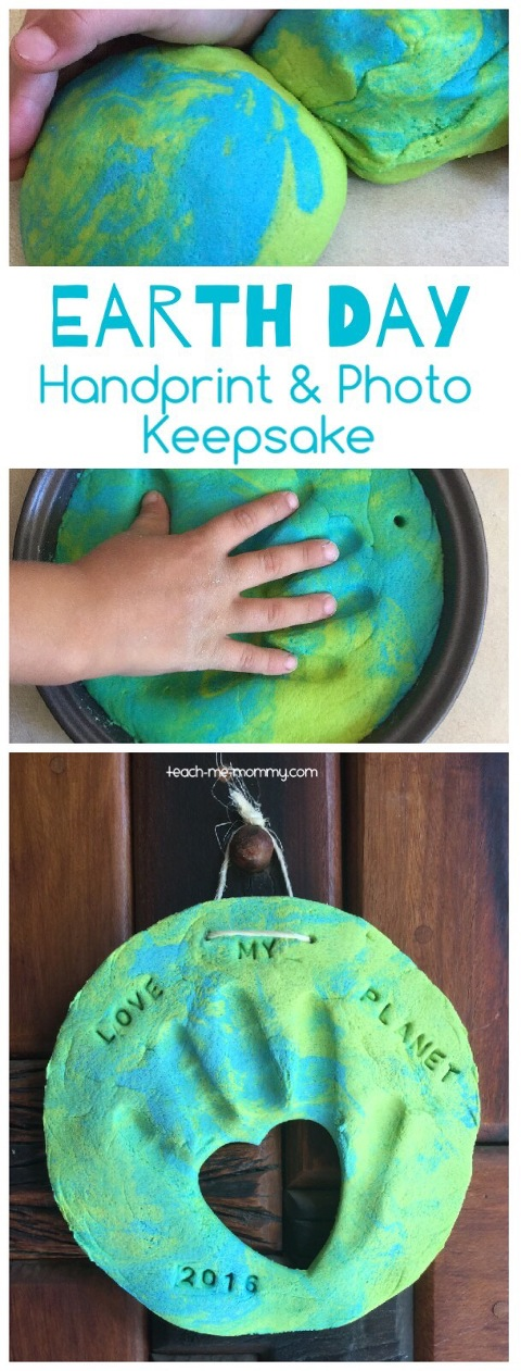 earth handprint