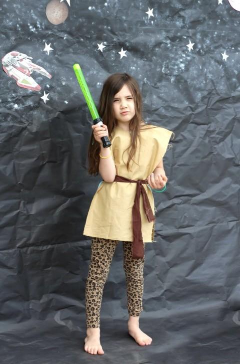 Ray DIY costume, star wars party, star wars, birthday