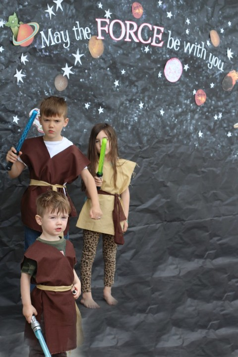 Star Wars Birthday Party, Star Wars, May the force be with you