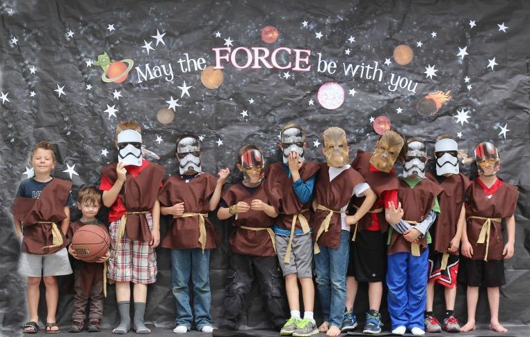 Star Wars Birthday party, Star Wars, star wars back drop, star wars the force awakens