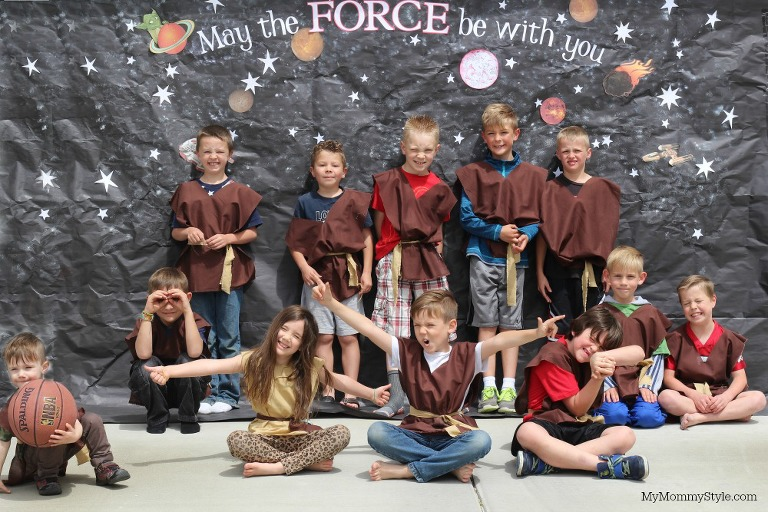 Star Wars Birthday party, Star wars party back drop