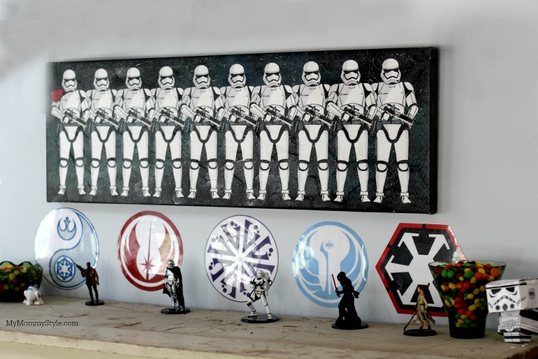 storm troopers, my mommy style, star wars birthday party, star wars