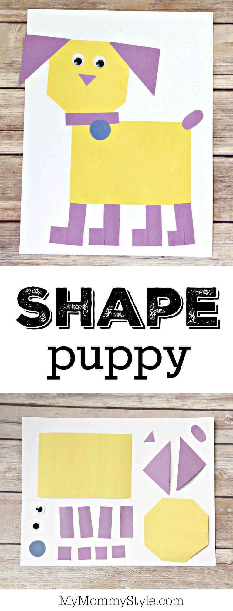 shape puppy