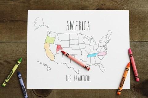 map printable