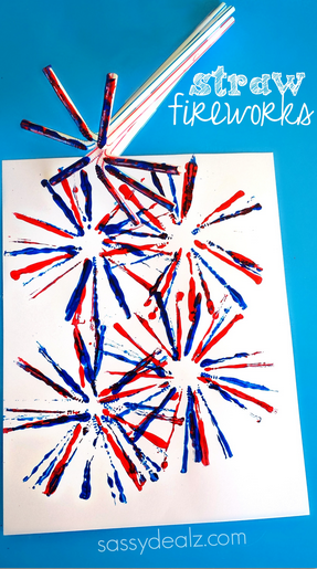 79c7532daab Simple Cut paper American Flag from Housing a Forest