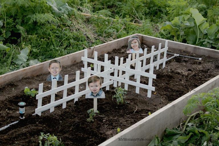 Family gardening, gardening with kids, eco scraps, my mommy style