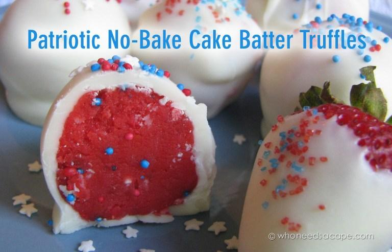 no bake truffles