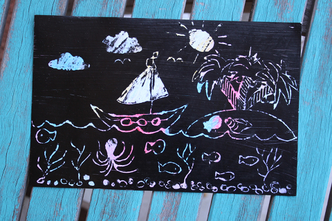 magic crayon scratch off paper kids craft fun and simple learning diy summer (3)