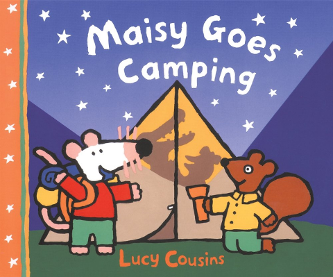 Maisy Goes Camping book cover