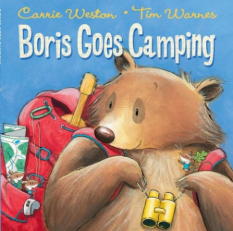 Boris Goes Camping Book Cover