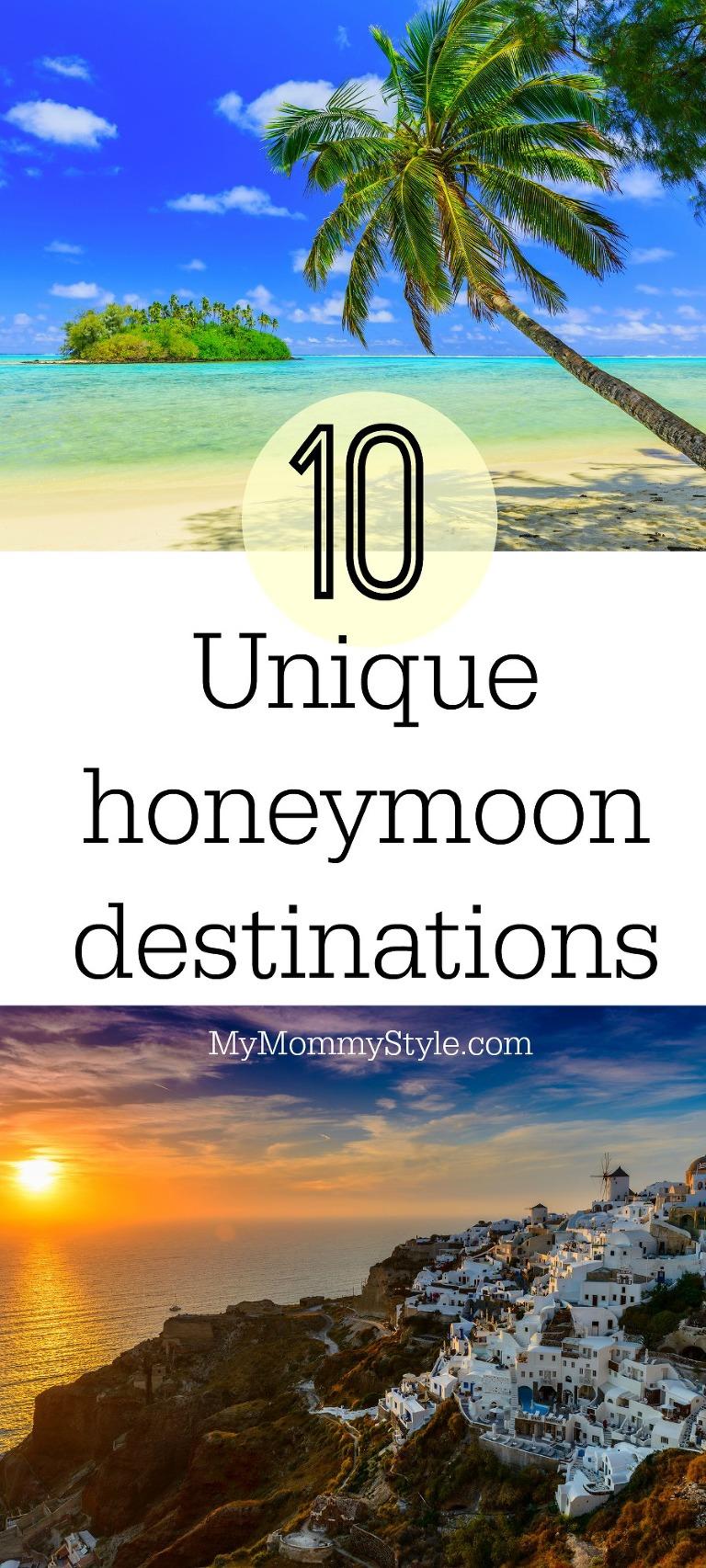 10 unique honeymoon destinations