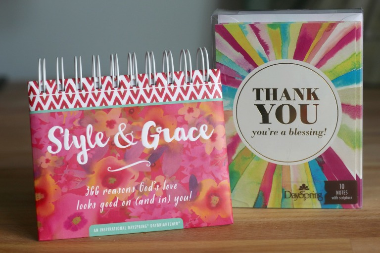 DaySpring, gifts, gift giving, cards, style and grace, desk calendar