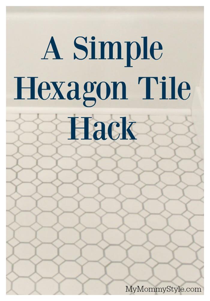 hexagon tile white hexagon tile bathroom