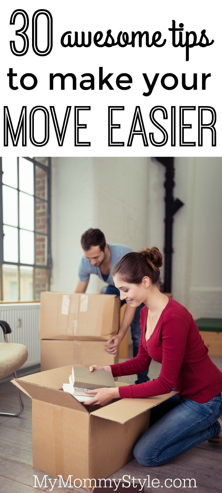 30 tips to make your move easier