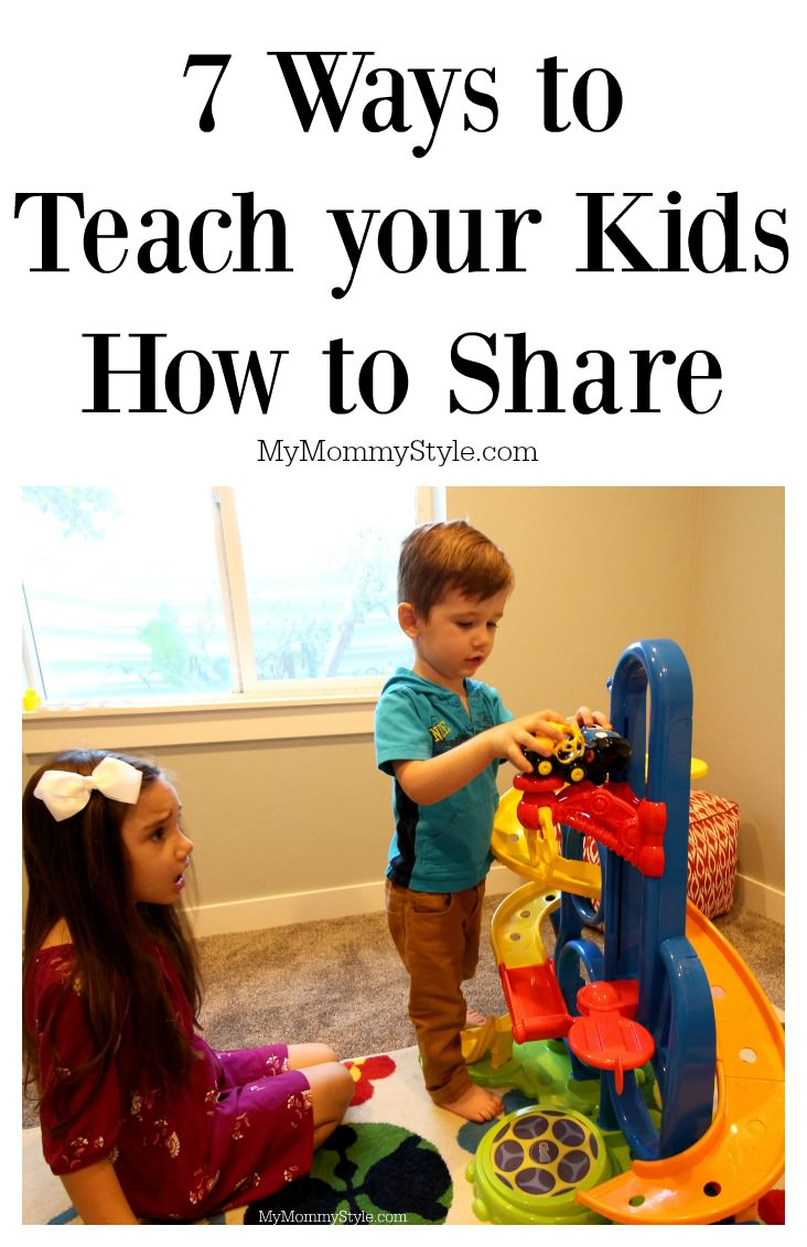 Teach Your Four Year Old To Read: 7 Ways To Teach Your Kids How To Share & Giveaway!